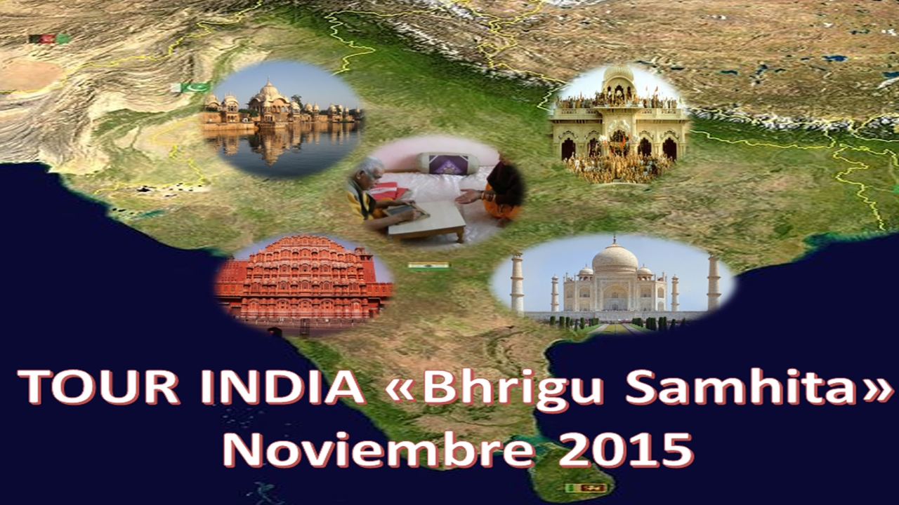 TOUR INDIA BRIGHU SAMHITA 2015