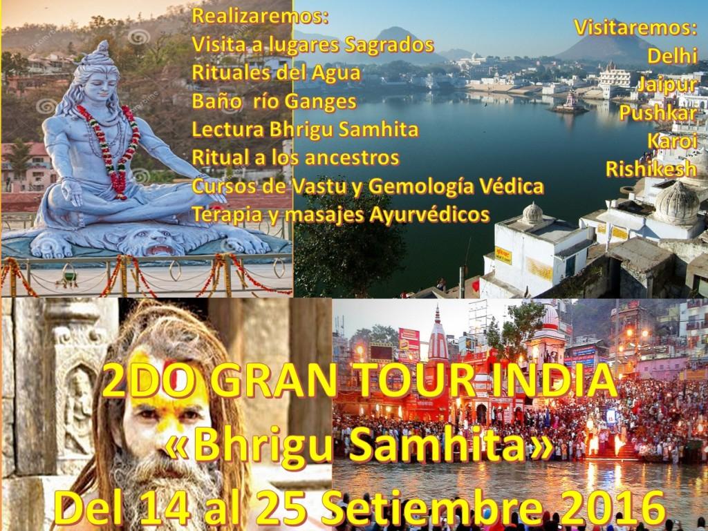 TOUR BHRIGU SAMHITA 2016